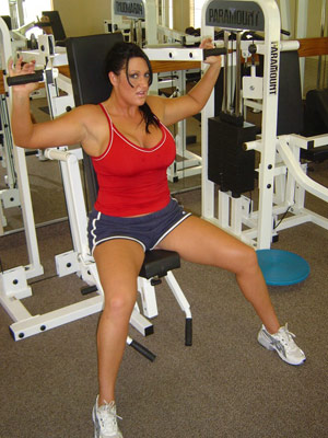 Extreme Holly Movies - Working Out
